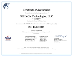 HQ-ISO 13485 Silikon Technologies Medical Silicone Injection Molding Services.